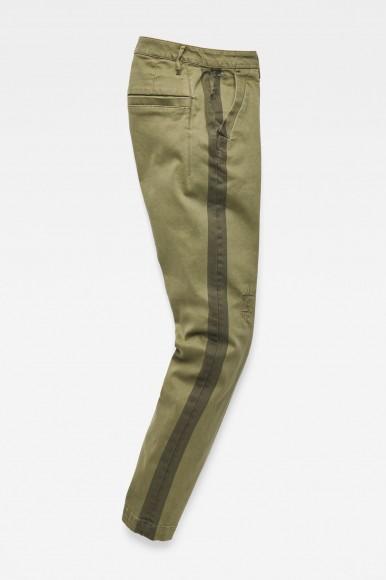 Nohavice - G-STAR Bronson mid skinny ankle wmn olivové