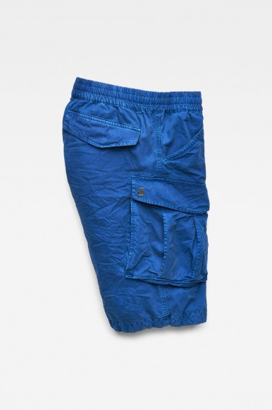Krátke nohavice - G-STAR Rovic x-relaxed trainer 12 modré