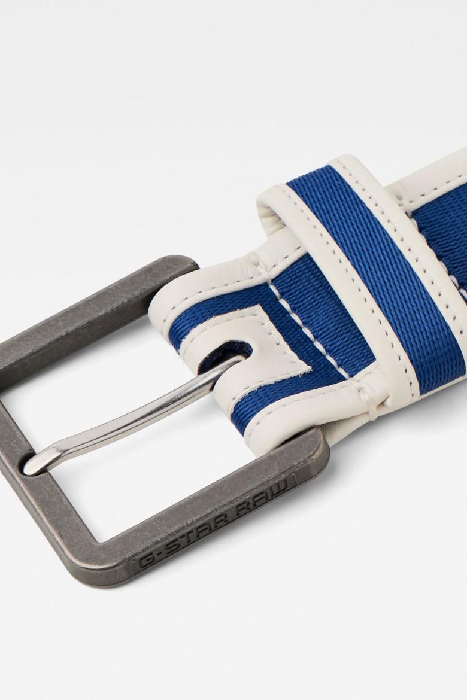 Opasok - G-STAR Drego aw belt modro-biely