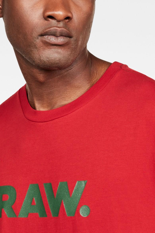Tričko - G-STAR Graphic 78 r t ss červené