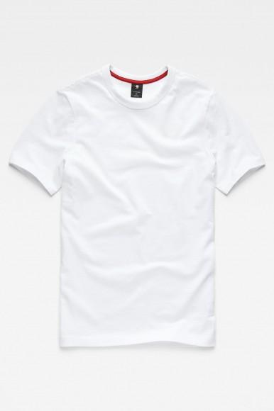 Tričko - G-STAR Graphic 49 r t ss biela