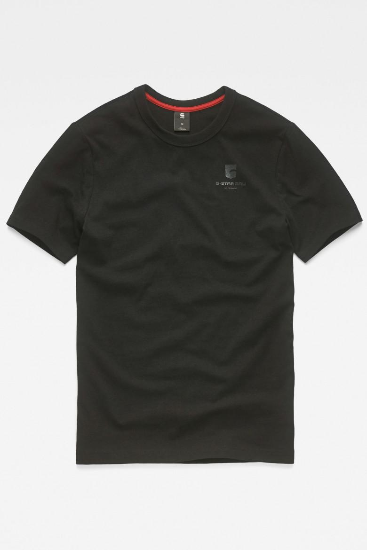 Tričko - G-STAR Graphic 49 r t ss čierna