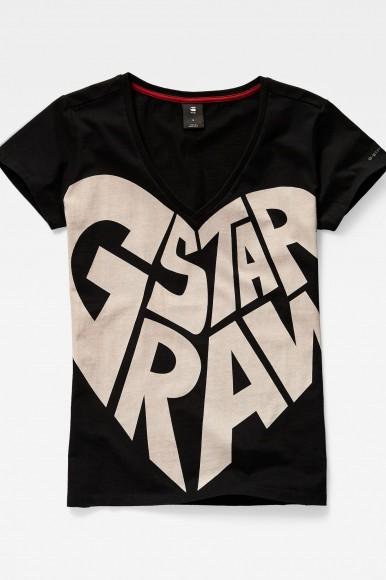 Tričko - G-STAR Graphic 50 v t wmn ss čierna