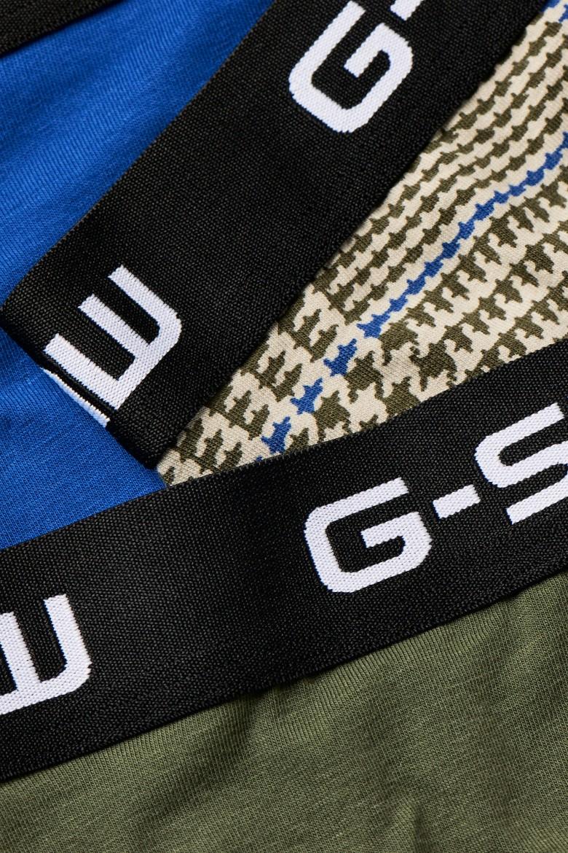 Boxerky - G-STAR Classic trunk 3 pack ao viacfarebné