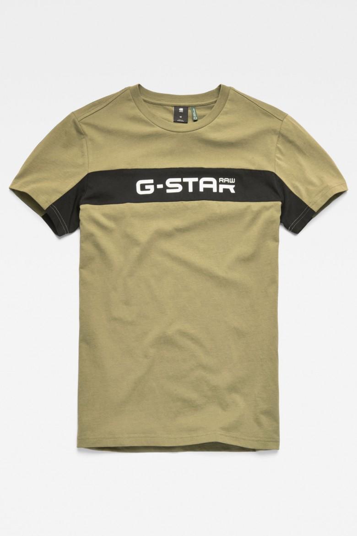 Tričko - G-STAR Graphic 80 r t ss olivové