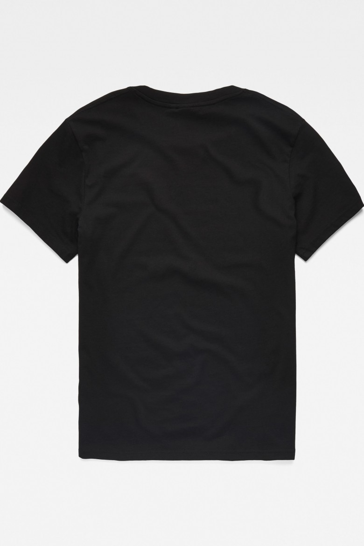 Tričko - G-STAR Graphic 8 r t ss čierne