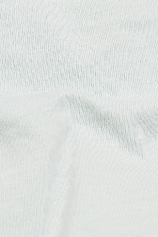 Tričko - Mysid Recycle dye optic slim r t wm pastelovo mätovo-sivé