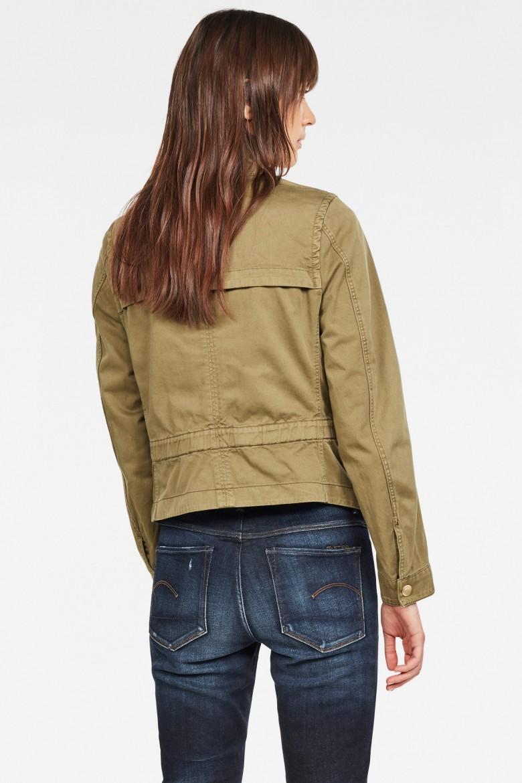 Bunda - Slim overshirt wmn olivová