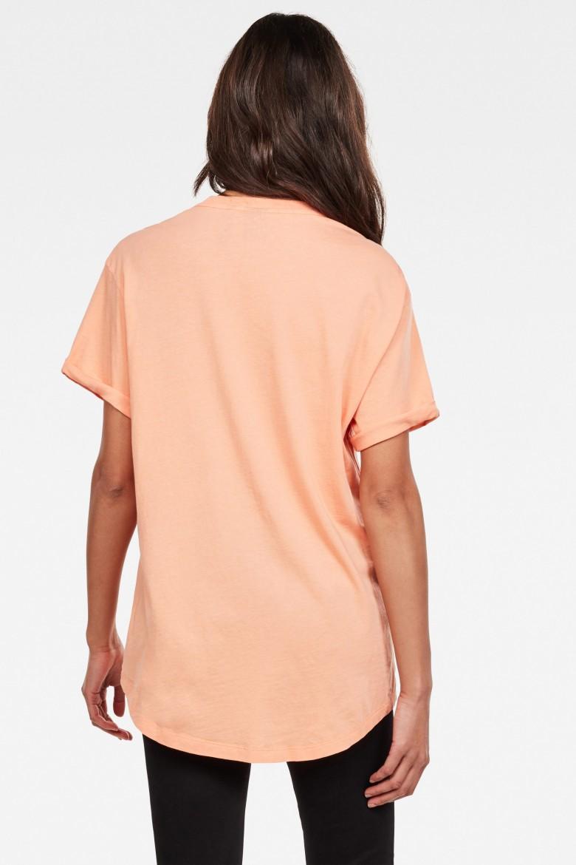 Tričko - Lash fem loose r t wmn s\s svetlo mandarínkové