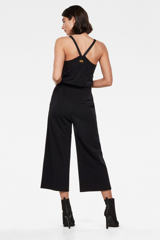 Overal - Utility strap jumpsuit wmn s\less čierny