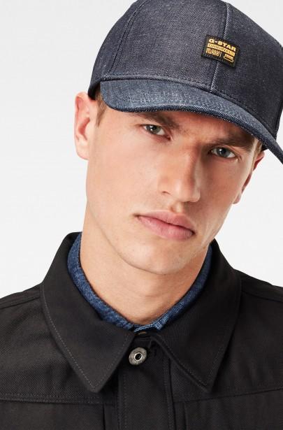 Šiltovka Original denim baseball cap modrá
