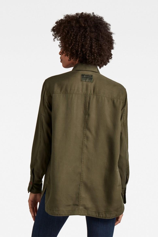 Košeľa - Boyfriend shirt zelená