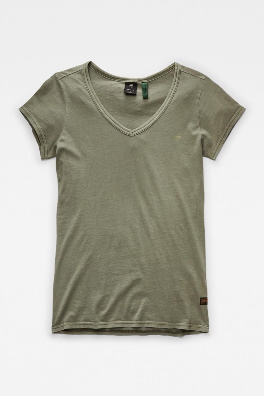 Tričko - Eyben slim v t wmn s\s od zelené