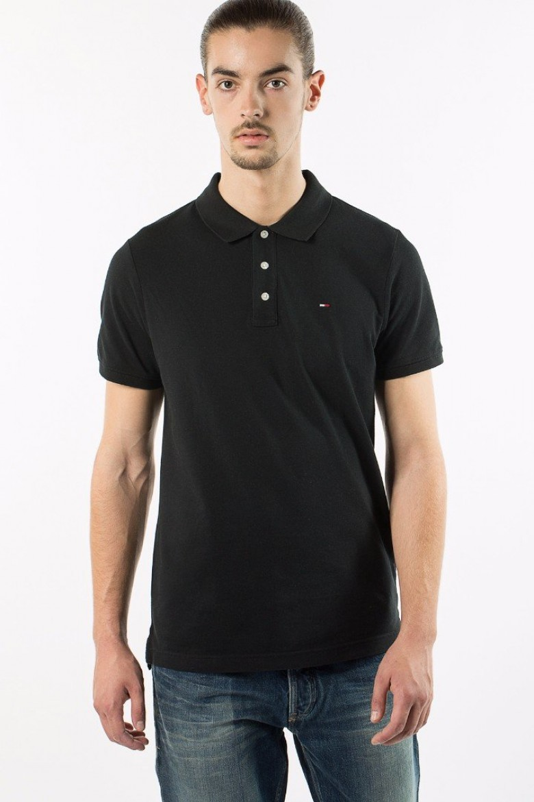 Polo tričko -  Hilfiger  Denim THDM BASIC POLO S/S 1