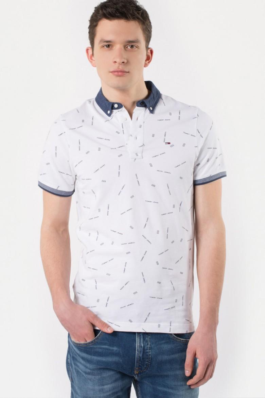 Polo tričko - TOMMY HILFIGER TJM PRINTED POLO, 10