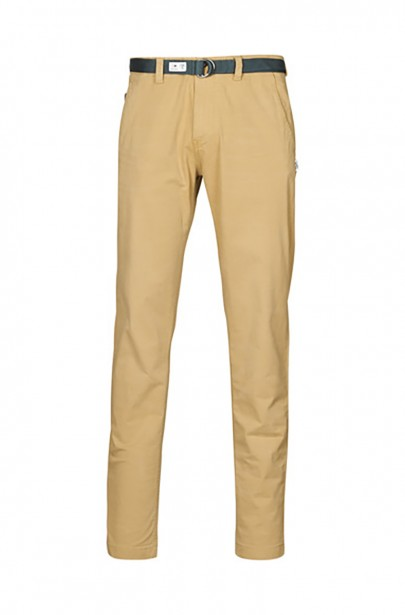 Pánske nohavice TJM TAPERED BELTED PANT khaki farby