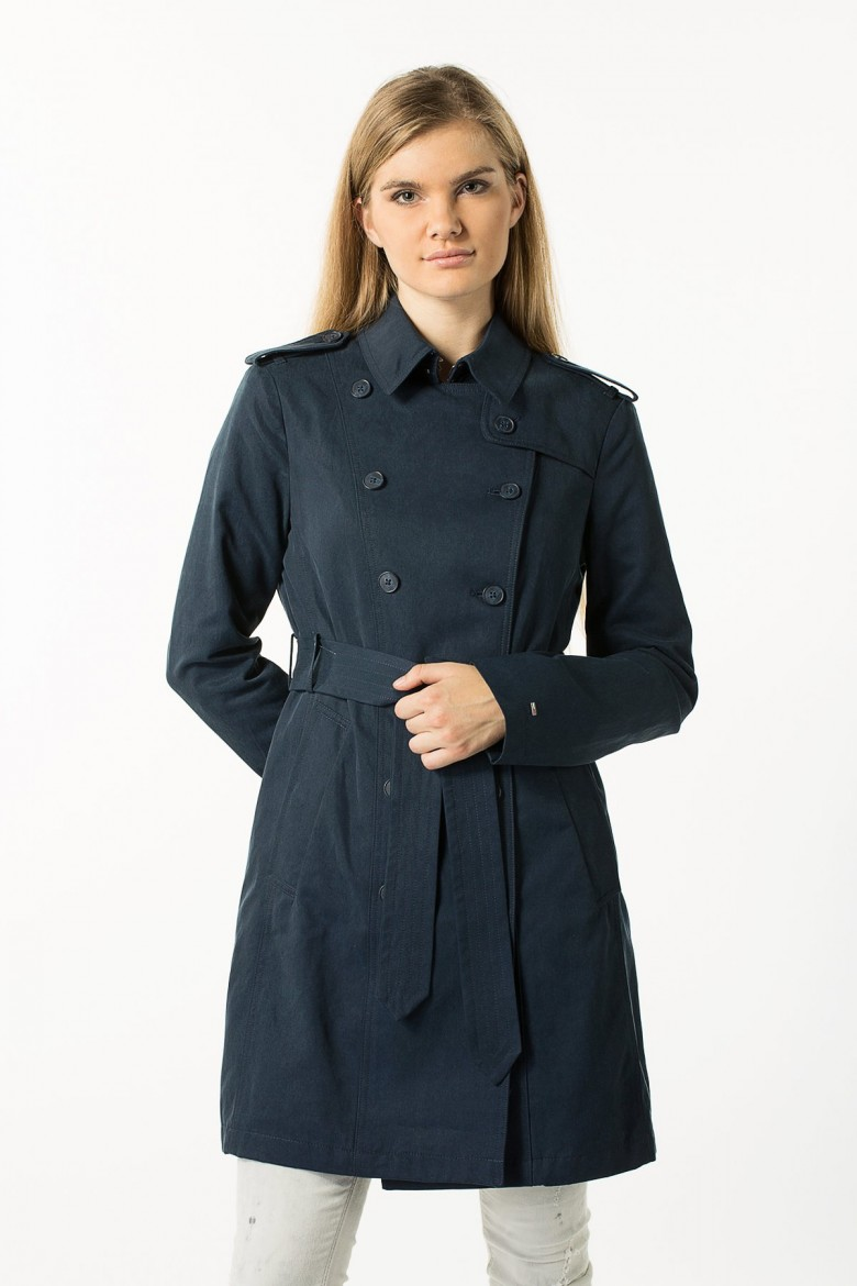 Kabát - Tommy Hilfiger THDW TRENCH 28