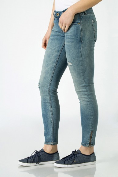 RIFLE - TOMMY HILFIGER UL LOW RISE SKINNY NATALIE 7/8 ZIP