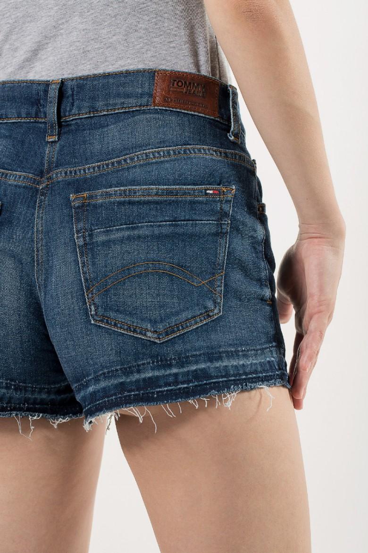 Krátke nohavice - TOMMY HILFIGER HOTPANT DENIM SHORT, modré