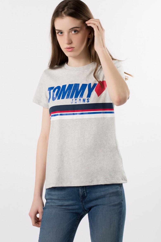 Tričko - TOMMY HILFIGER TJW FOIL LOGO TEE, 0