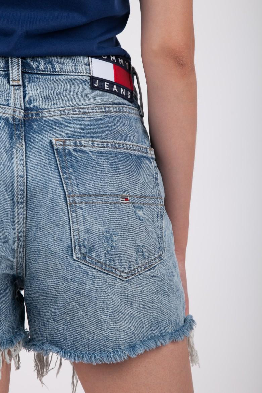 Krátke nohavice - TOMMY HILFIGER HOT PANT SHORT CHRL modré