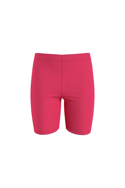 Športové nohavice - TJW FITTED BRANDED BIKE SHORT ružové