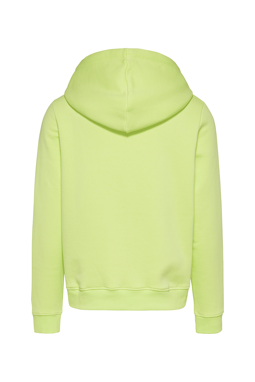 Mikina - Tommy Jeans TJW LINEAR LOGO HOODIE zeleno-žltá