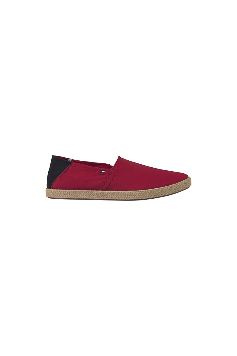 Slip on - EASY SUMMER SLIP ON červené