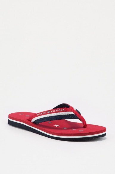Plážová obuv - TOMMY HILFIGER TOMMY LOVES NY BEACH rôznofarebná