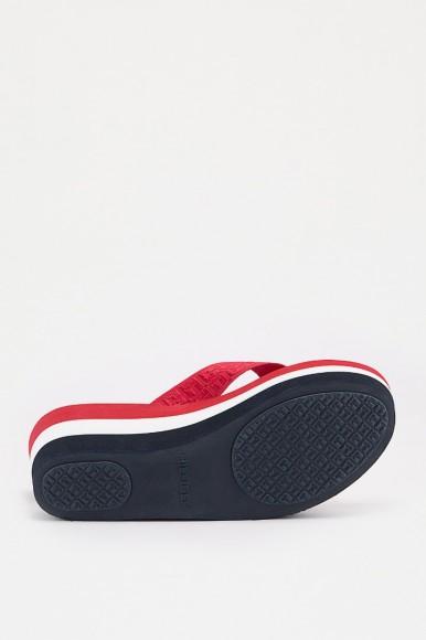 Plážová obuv - TOMMY HILFIGER JACQUARD MID BEACH S rôznofarebná