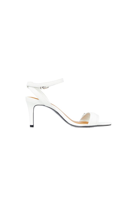 Sandále - TH HARDWARE MID HEEL SANDAL biele