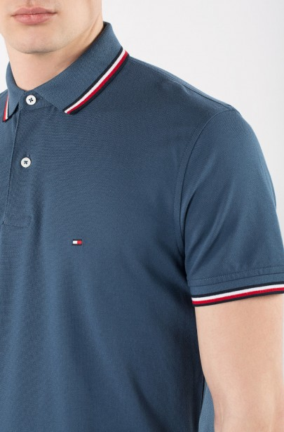 ... Polo tričko - TOMMY HILFIGER TOMMY TIPPED REGULAR modré f0c3fe9bd19