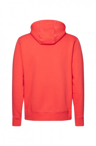 Pánska mikina TOMMY LOGO HOODY oranžovej farby
