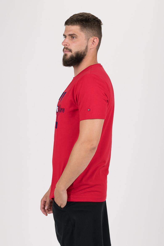 Tričko - FLAG SCRIPT TEE červené