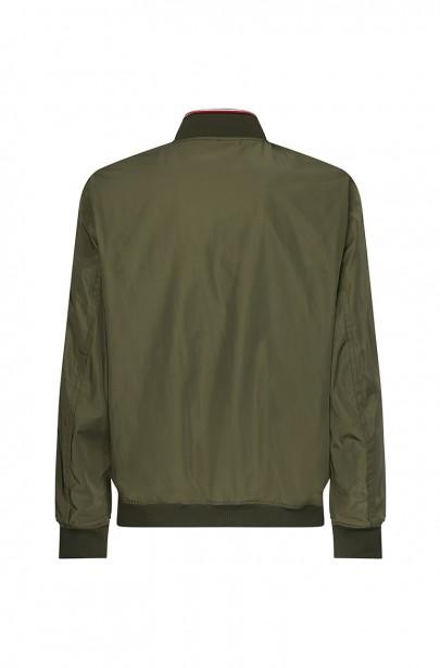 Pánska bunda REVERSIBLE BOMBER khaki farby