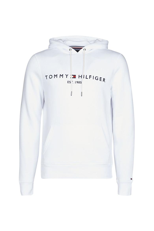 Mikina - TOMMY FLAG HILFIGER HOODY biela