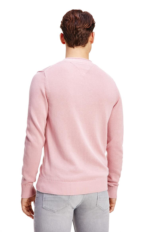 Sveter - Tommy Hilfiger ULTRA LIGHTWEIGHT COTTON C NECK ružový