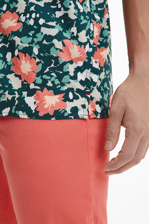 Košeľa - FLORAL CAMO SHIRT S/S viacfarebná
