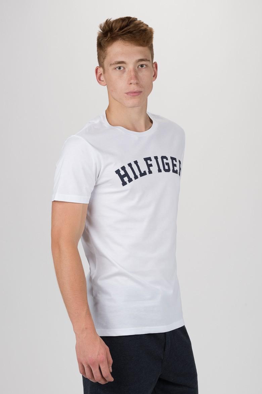 Tričko - TOMMY HILFIGER SS TEE LOGO biele