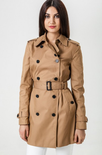 Trenčkot Tommy Hilfiger HERITAGE DOUBLE BREASTED TRENCH
