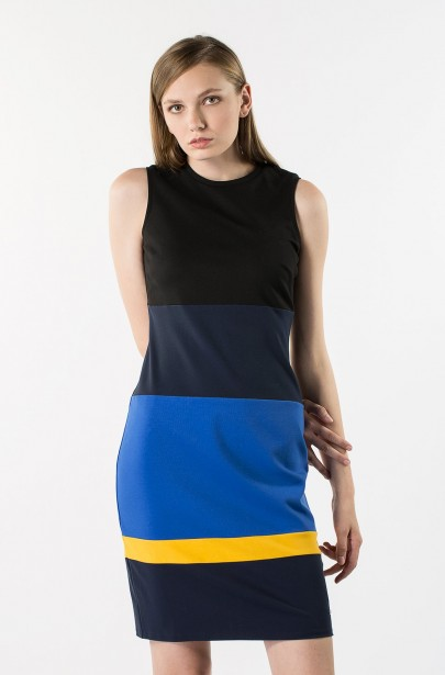 Šaty - Tommy Hilfiger SALOME CLR-BLOCK DRESS NS ... 829ac2544a