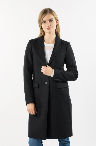 Kabát - TOMMY HILFIGER CARRIE CLASSIC WOOL COAT ... d267a26c58c