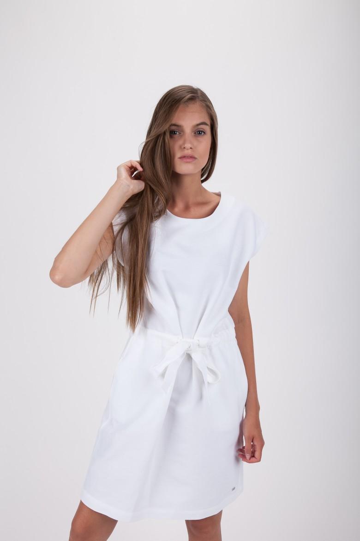 Šaty - TOMMY HILFIGER CAROLINA DRESS biele