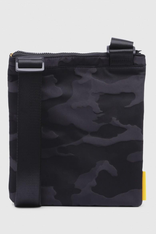Taška na rameno - DIESEL S.P.A.,BREGANZE DISCOVERUZ FDISCOVER CROSS  cr čierno-žltá