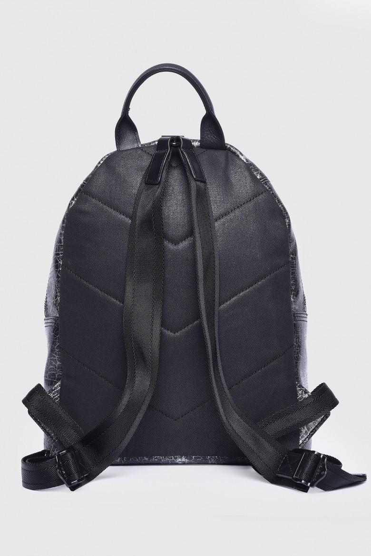 Ruksak - DIESEL S.P.A.,BREGANZE LEZIPPER LEONY  backpack čierno-strieborný