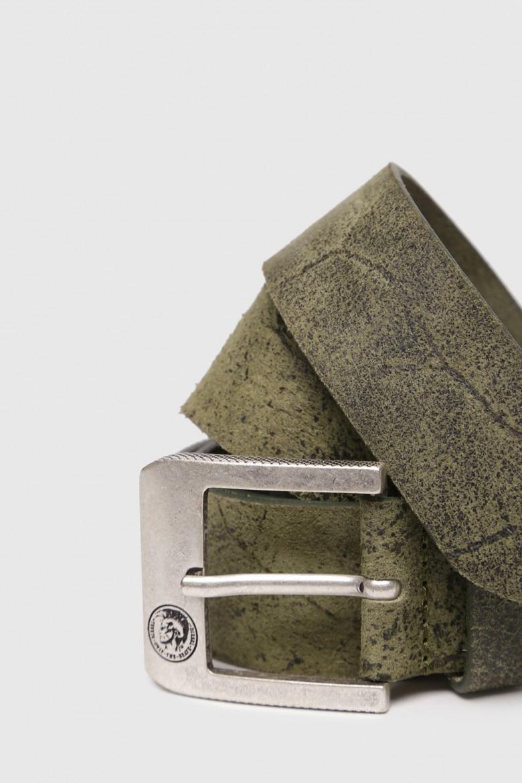 Opasok - DIESEL S.P.A.,BREGANZE BPROF.LEE  belt zelený