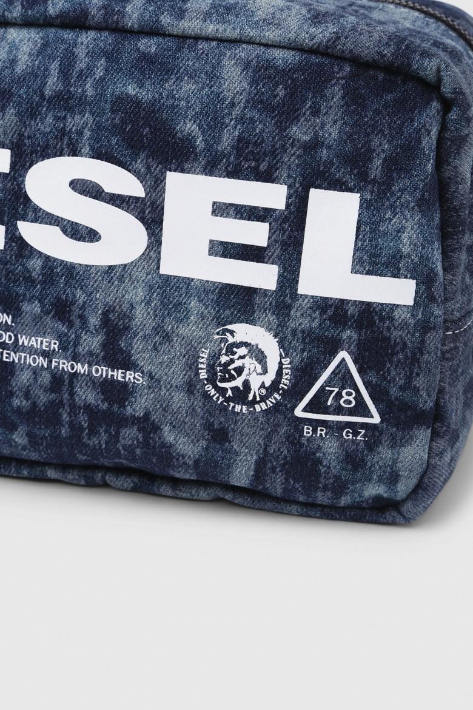Peňaženka - DIESEL S.P.A.,BREGANZE THISWALLETISNOTATOY POUCHH  be modrá