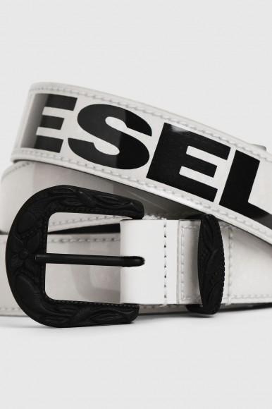 Opasok - DIESEL S.P.A.,BREGANZE BSTICF  belt - biela