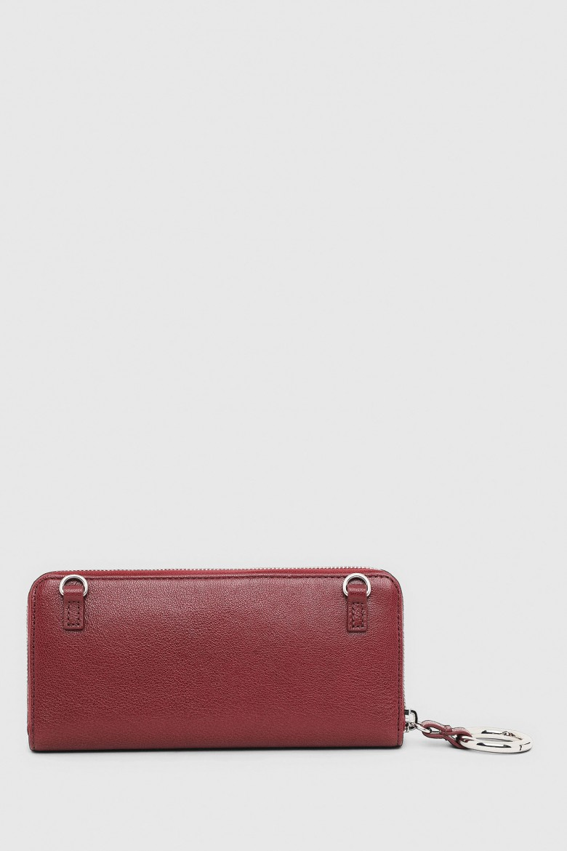 Peňaženka - KUB8 ALLIUM wallet bordová