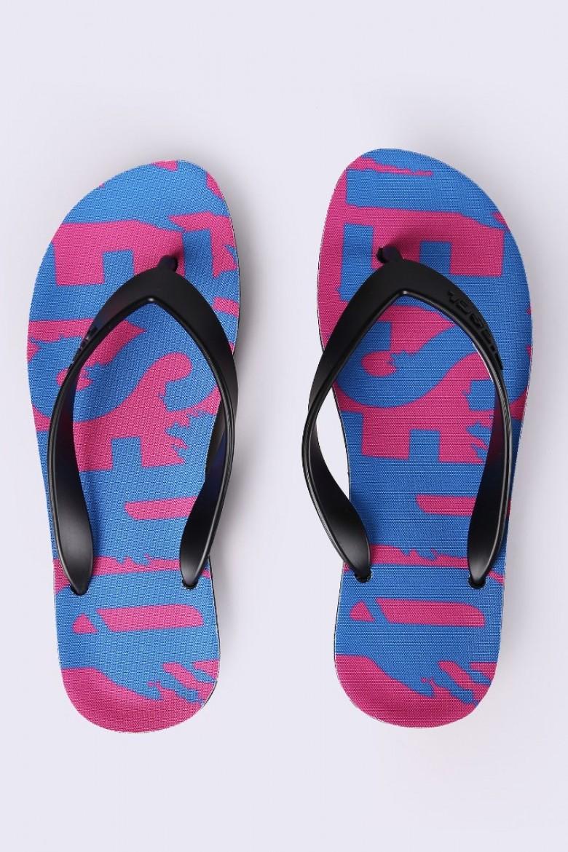 Plážová obuv - DIESEL S.P.A.,BREGANZE PLAJA SPLISH W  flipflop modrá